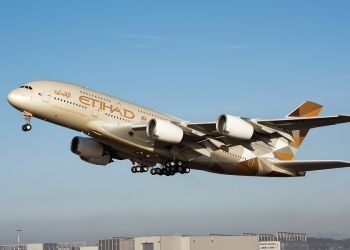 Etihad Airways - самый надежный эксплуатант Эйрбас А380