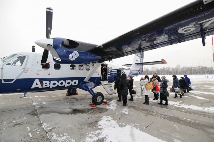 Владивосток. Посадка пассажиров.